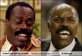 Dudley's dad (Diff'rent Strokes) Totally Looks Like Al Skinner