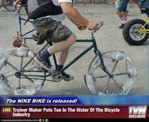 The NIKE BIKE is released! - Trainer Maker Puts Toe In The Water Of The Bicycle Industry