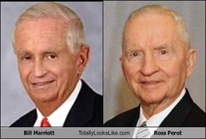 Bill Marriott Totally Looks Like Ross Perot