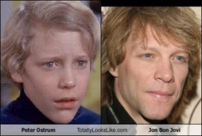 Peter Ostrum Totally Looks Like Jon Bon Jovi