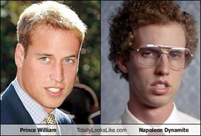 Prince William Totally Looks Like Napoleon Dynamite