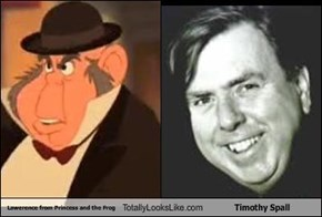 Lawerence from Princess and the Frog Totally Looks Like Timothy Spall
