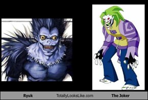 Ryuk Totally Looks Like The Joker