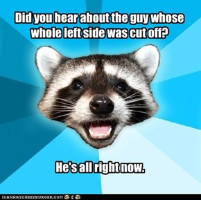 Lame Pun Coon: All Right