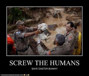 SCREW THE HUMANS