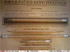 Analog Word Processor