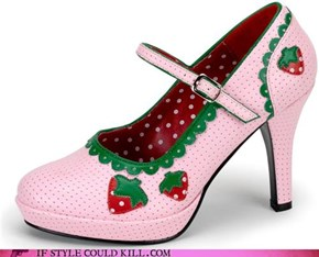 Strawberry Heels Forever