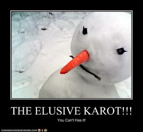 THE ELUSIVE KAROT!!!