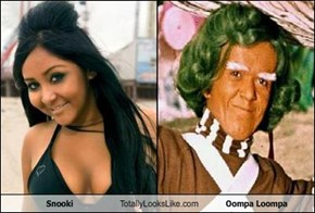 Snooki Totally Looks Like Oompa Loompa