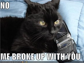 NO  ME BROKE UP WITH YOU