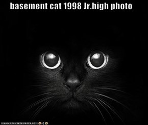basement cat 1998 Jr.high photo