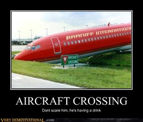 AIRCRAFT CROSSING