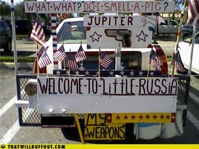 Welcome to Little Russia!