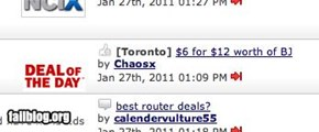 Toronto Deal of the Day FAIL