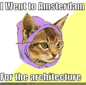 I Went to Amsterdam  For the architecture