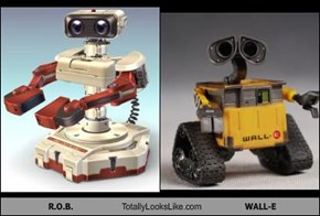 R.O.B. Totally Looks Like WALL-E