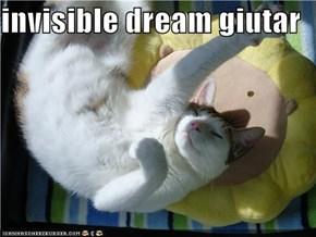 invisible dream giutar