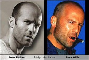 Jason Statham Totally Looks Like Bruce Willis