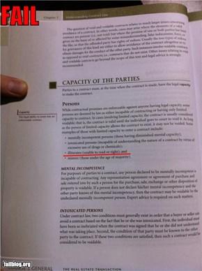 Literacy Fail