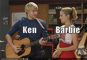 Ken           Barbie