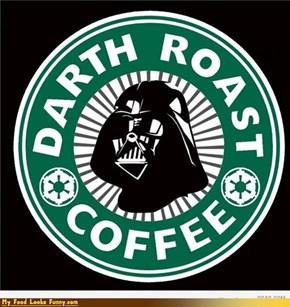 Funny Food Photos - Darth Roast Coffee