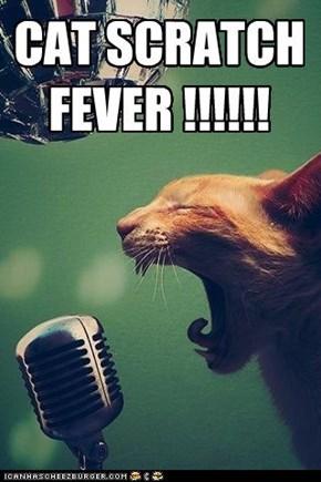 CAT SCRATCH FEVER !!!!!!