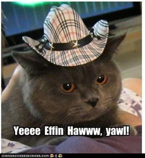 Yeeee  Effin  Hawww,  yawl!
