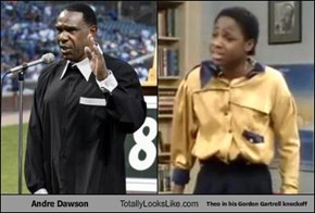 Andre Dawson Totally Looks Like Theo in his Gordon Gartrell knockoff