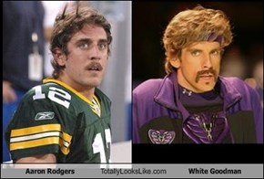 Aaron Rodgers Totally Looks Like White Goodman