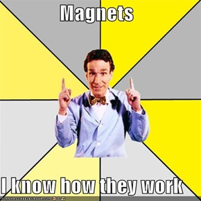 Bill Nye The Science Guy: Magnets!