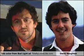 This actor from Bud Light ad Totally Looks Like David Naughton