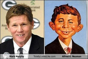 Mark Murphy Totally Looks Like Alfred E. Neuman