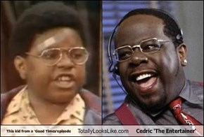 This kid from a 'Good Times'episode Totally Looks Like Cedric 'The Entertainer'