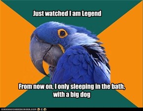 Just watched I am Legend
