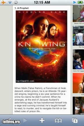 Movie Description FAIL