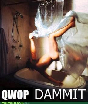 Bathtime Qwop