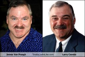 James Van Praagh Totally Looks Like Larry Csonka