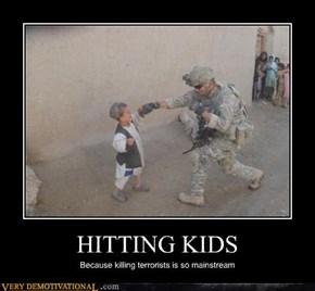 HITTING KIDS