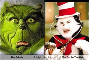 The Grinch Totally Looks Like The Cat In The Hat