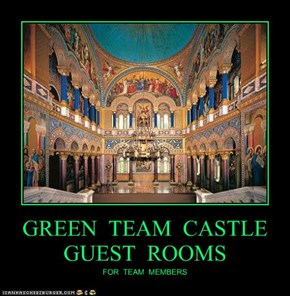 GREEN  TEAM  CASTLE  GUEST  ROOMS