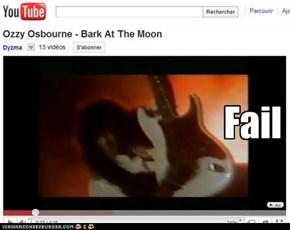 Guitarist fail