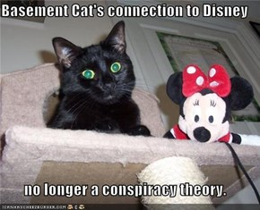 Basement Cat's connection to Disney  no longer a conspiracy theory.