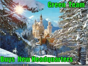 Green  Team  Buys  New Headquarters
