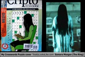 My Crosswords Puzzle cover Totally Looks Like Samara Morgan (The Ring)