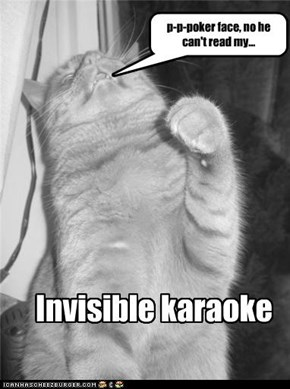 poker face invisible karaoke