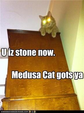 U iz stone now.
