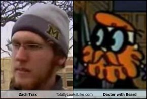 Zach Trax Totally Looks Like Dexter with Beard