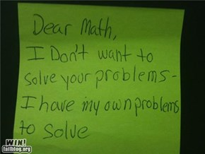 Math Problem WIN