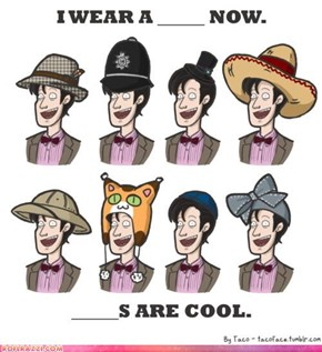 Matt Smith In Hats: Nailed It