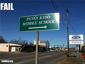 Middle School Fail